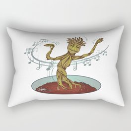 Guardians of the Galaxy - Dancing Baby GROOT Rectangular Pillow