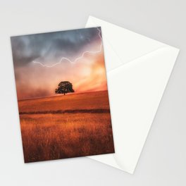 Strength in the Storm Stationery Cards