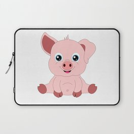 Year of the Pig Piggy Piglet Lover Luck Gift Laptop Sleeve
