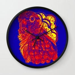 Sunset Conure Wall Clock