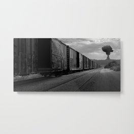 Nuke Train Metal Print