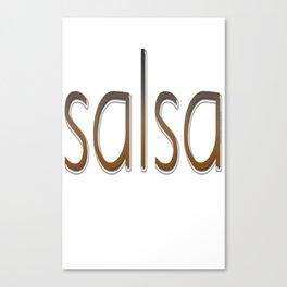 Salsa Photo Phill Canvas Print