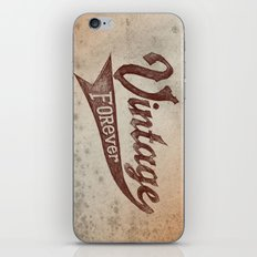 Vintage Forever iPhone & iPod Skin