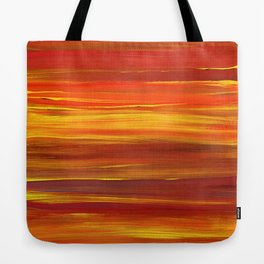 Sunset stratum Tote Bag