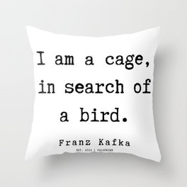 3 | Franz Kafka Quotes | 190909 Throw Pillow