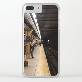 Penn Station, NYC Clear iPhone Case