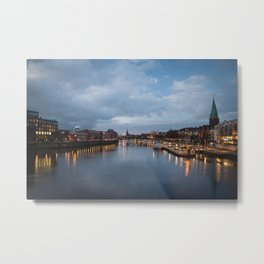 Blue Hour Metal Print