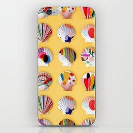 Rainbow Print Shells iPhone Skin
