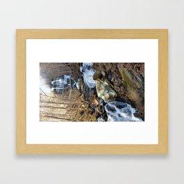TN Waterfall Framed Art Print