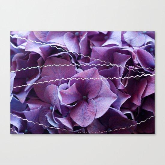 Hydrangeas #1 #Purple #art #society6 Canvas Print