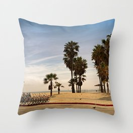 not that Venice, the other one Throw Pillow