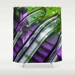 The Escalator Shower Curtain