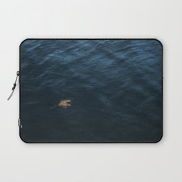 Leaf and Raindrops Laptop Sleeve