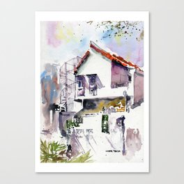 20141220 Park Near Neil Road USKSG Canvas Print