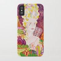 marie antoinette iPhone & iPod Cases featuring Marie-Antoinette by Caroline Krzykowiak