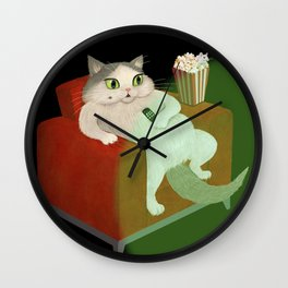 Couch Potatoe Wall Clock