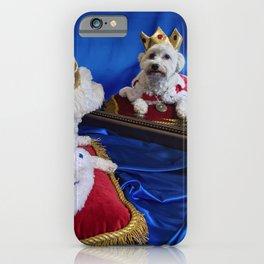 King Max Contemplating His Royal Duties iPhone Case