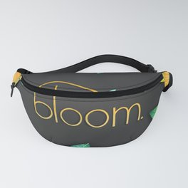 Bloom- Spring Illustration Fanny Pack