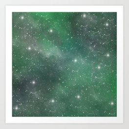 Cosmic Space Art Print