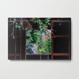 secret windows, forgotten homes Metal Print