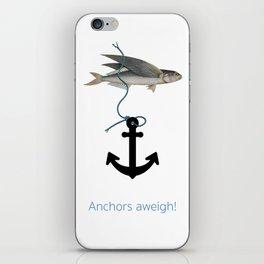 Anchors aweigh! iPhone Skin