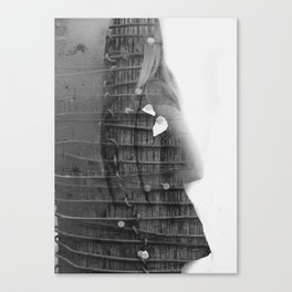 Suicide in Gloss Canvas Print