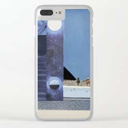 Synchronized Clear iPhone Case
