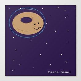 Space Bagel Canvas Print