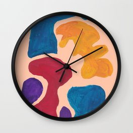 17 | 190330 Abstract Shapes Painting Wall Clock