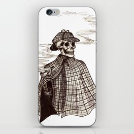 Sherlock Bones iPhone Skin