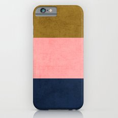 three stripes - classic Slim Case iPhone 6
