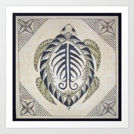 Sacred Turtle Art Print