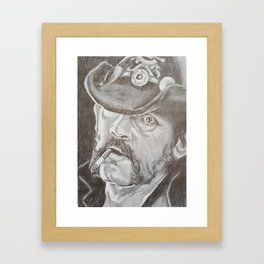 Lemmy Kilmister Framed Art Print