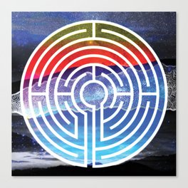 Transformative Labyrinth of Sound Canvas Print
