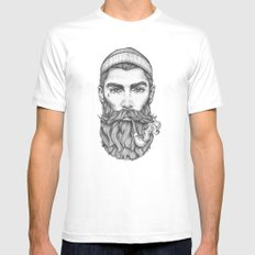 Sailor LARGE Mens Fitted Tee White