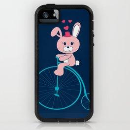 Bunnies Love Bikes iPhone Case