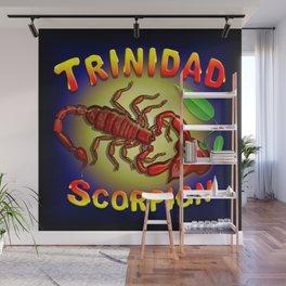 Trinidad Scorpion Red Wall Mural