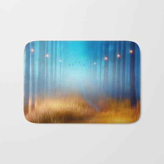 Blue melody.. Bath Mat