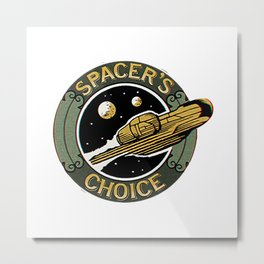 Spacers Choice Metal Print
