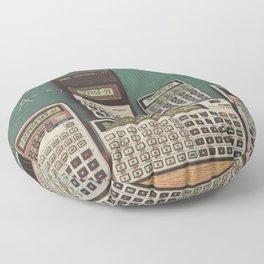 Casio Calculators...the good old days. Floor Pillow