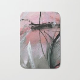 Train of thought [2]: a pretty abstract mixed media piece Bath Mat
