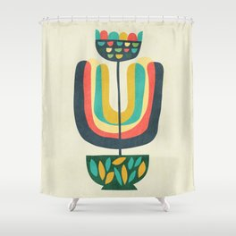 Potted Plant 3 Shower Curtain