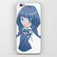 selena gomez iPhone & iPod Skins featuring Selena by ScytheMeHappy
