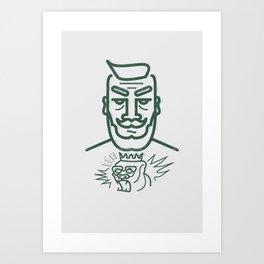 Conor McGregor Prints Art Print
