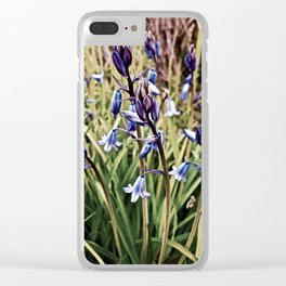 Bluebells, Magical Flowers Of Spells Clear iPhone Case