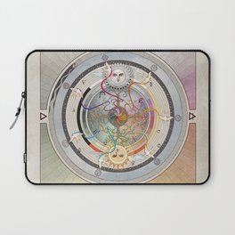 67000 mph, all systems go- a medicine wheel Laptop Sleeve