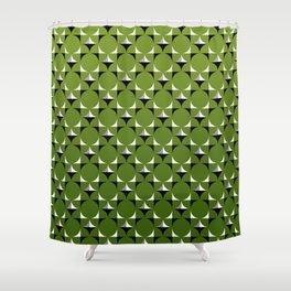 Mod Kelly Green Shower Curtain