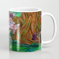 warcraft Mugs featuring Welcome in Darnassus by Studinano by Shou'