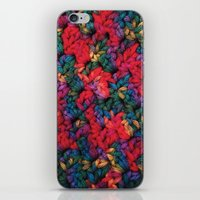 knit iPhone & iPod Skins featuring Knit by kirstenariel