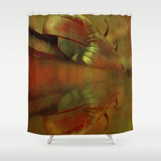Train without stops Shower Curtain